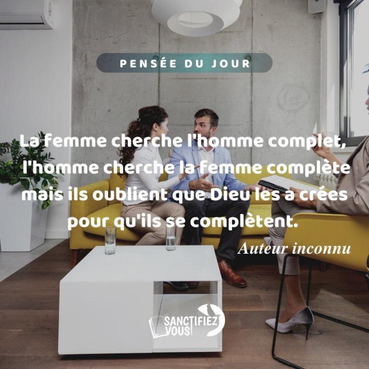 lhomme cherche la femme complete site de rencontre be2.fr